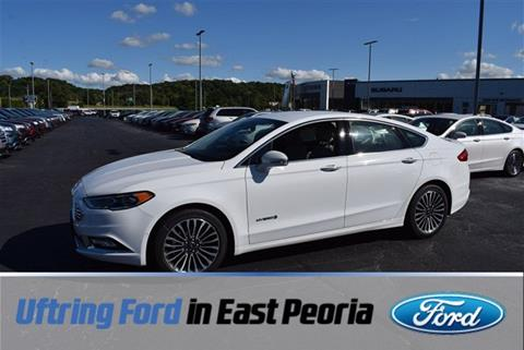 2018 Ford Fusion Hybrid for sale in East Peoria, IL