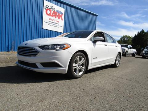 2018 Ford Fusion Hybrid for sale in Amory, MS