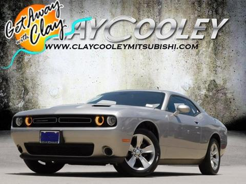2018 Dodge Challenger For Sale At CLAY COOLEY Mitsubishi In Arlington TX