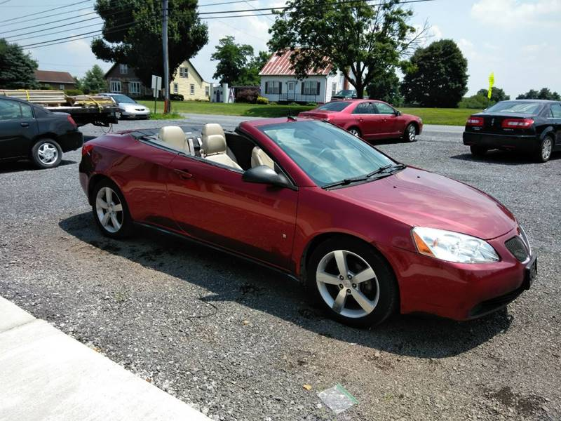 2008 Pontiac G6 Gt In Jonestown Pa Jonestown Auto Center