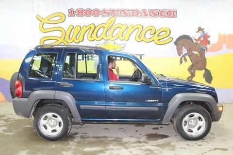 2004 Jeep Liberty For Sale At Sundance Chevrolet In Grand Ledge MI