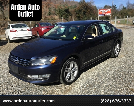 2013 Volkswagen Passat for sale at Arden Auto Outlet in Arden NC