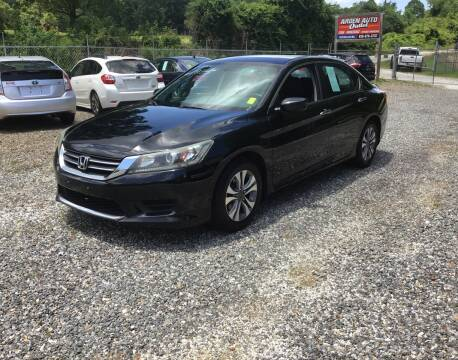 2014 Honda Accord for sale at Arden Auto Outlet in Arden NC