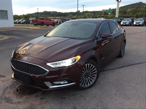2017 Ford Fusion Hybrid for sale in Onalaska, WI