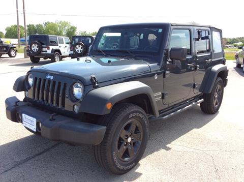 2017 Jeep Wrangler Unlimited for sale in Tomah, WI