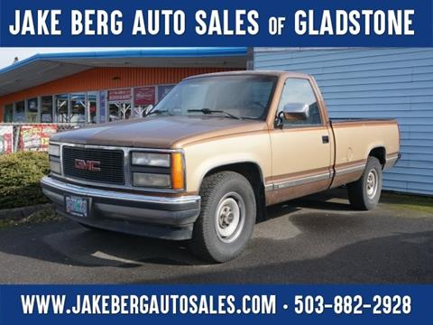 1990 GMC Sierra 2500 for sale in Gladstone, OR