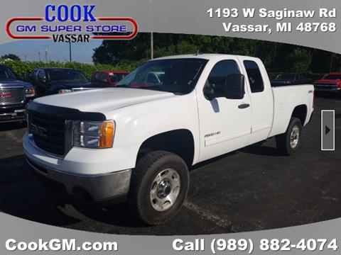 2010 GMC Sierra 2500HD for sale in Vassar, MI