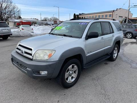 2003 Toyota 4Runner for sale at Fairview Motors in West Allis WI