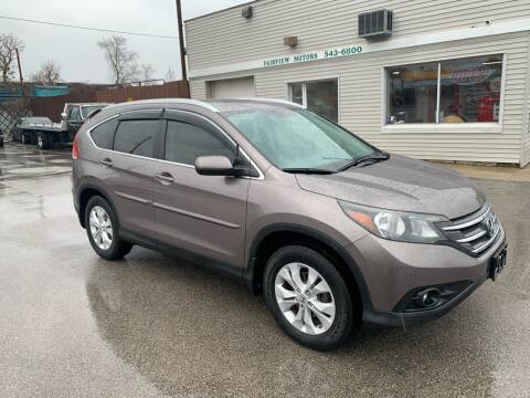 2013 Honda CR-V EX-L w/Navi for sale at Fairview Motors in West Allis WI