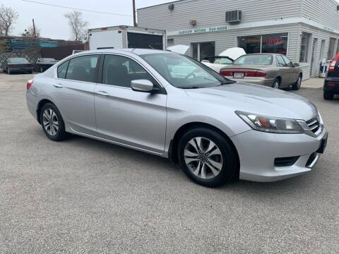 2015 Honda Accord LX for sale at Fairview Motors in West Allis WI