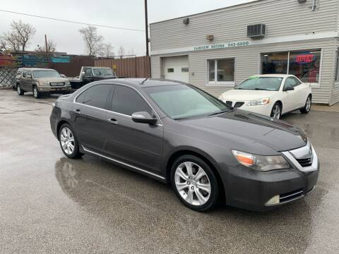 2010 Acura RL SH-AWD w/Tech for sale at Fairview Motors in West Allis WI