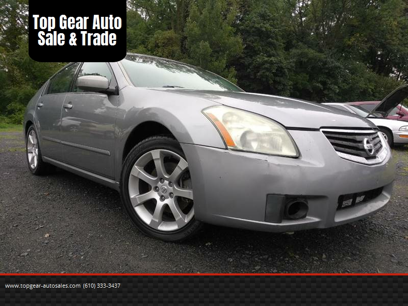 2007 Nissan Maxima For Sale At Top Gear Auto Sale U0026 Trade In Coopersburg PA