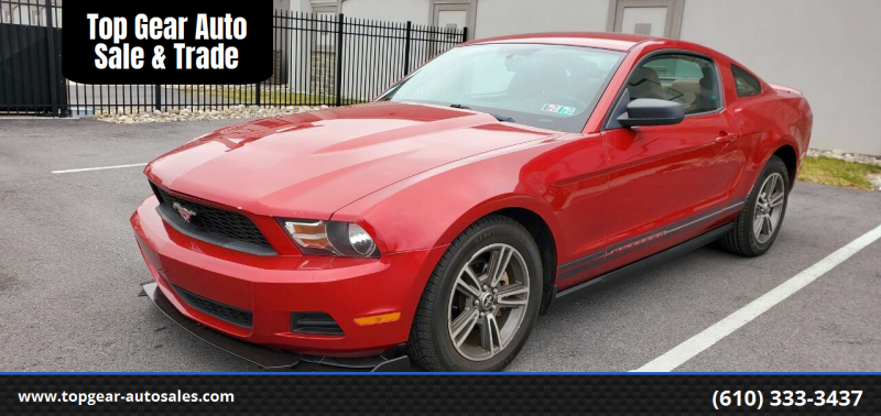 2010 Ford Mustang V6 Premium Coupe RWD
