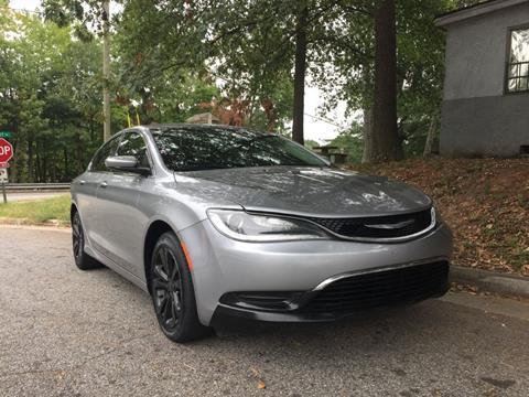 2015 Chrysler 200 for sale in Doraville, GA