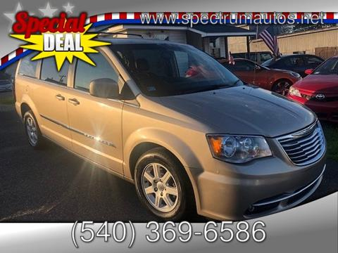 2012 Chrysler Town and Country for sale in Fredericksburg, VA
