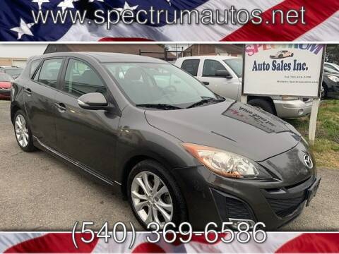 2010 Mazda MAZDA3 for sale at Spectrum Auto Sales inc in Fredericksburg VA