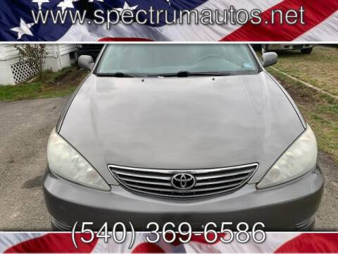 2006 Toyota Camry for sale at Spectrum Auto Sales inc in Fredericksburg VA