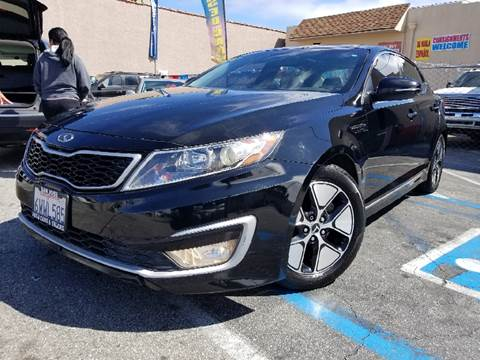 2012 Kia Optima Hybrid for sale at L.A. Vice Motors in San Pedro CA