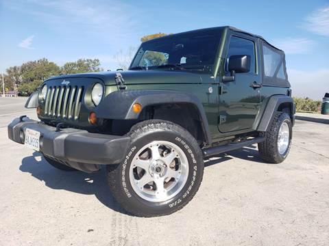 2007 Jeep Wrangler for sale at L.A. Vice Motors in San Pedro CA