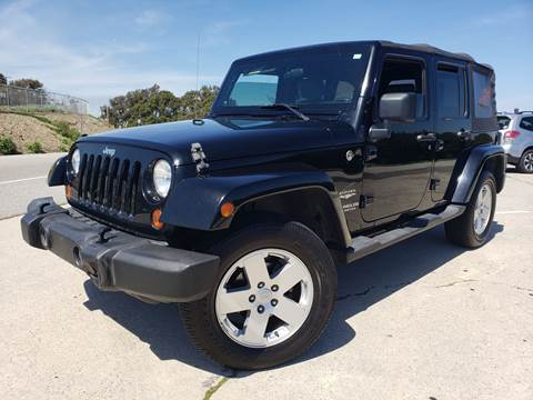 2007 Jeep Wrangler Unlimited for sale at L.A. Vice Motors in San Pedro CA