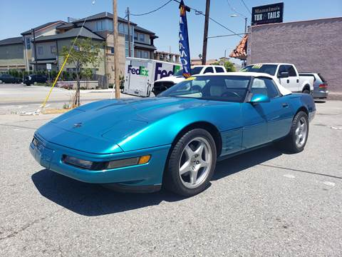 1992 Chevrolet Corvette for sale at L.A. Vice Motors in San Pedro CA