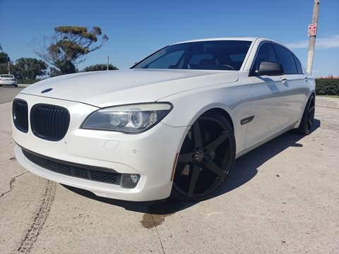 2011 BMW 7 Series for sale at L.A. Vice Motors in San Pedro CA
