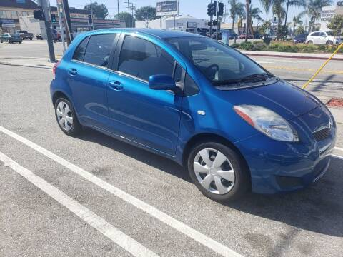 2010 Toyota Yaris for sale at L.A. Vice Motors in San Pedro CA