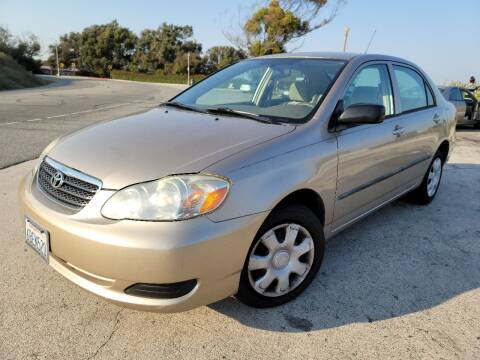 2005 Toyota Corolla for sale at L.A. Vice Motors in San Pedro CA