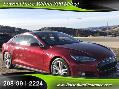 Used Tesla Model S For Sale In Idaho Carsforsale Com