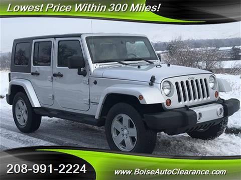 2010 Jeep Wrangler Unlimited for sale in Boise, ID