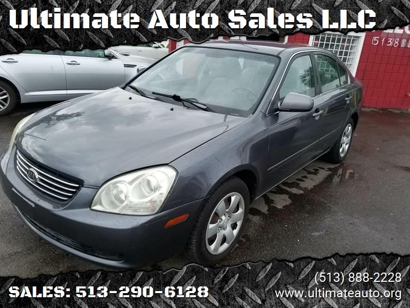 2008 Kia Optima For Sale At Ultimate Auto Sales LLC In Hamilton OH
