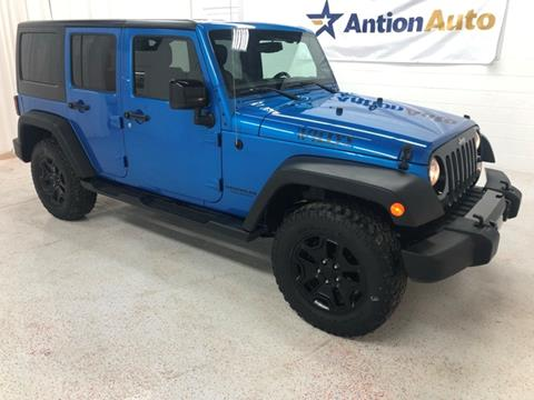 2015 Jeep Wrangler Unlimited for sale in Bountiful, UT