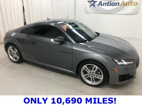 Audi Tt For Sale >> 2017 Audi Tt For Sale In Bountiful Ut