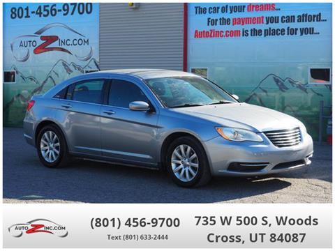 2013 Chrysler 200 for sale in Woods Cross, UT