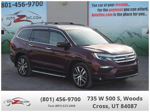 2016 Honda Pilot for sale in Woods Cross, UT