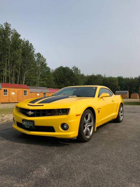 2010 Chevrolet Camaro For Sale At Gregu0027s Auto Sales In Searsport ME