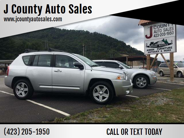 2010 Jeep Compass For Sale At J County Auto Sales In Mountain City TN