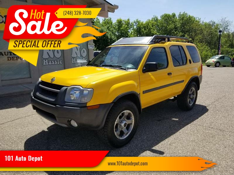 2002 Nissan Xterra For Sale At 101 Auto Depot In Holly MI