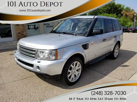 2007 Land Rover Range Rover Sport for sale in Holly, MI