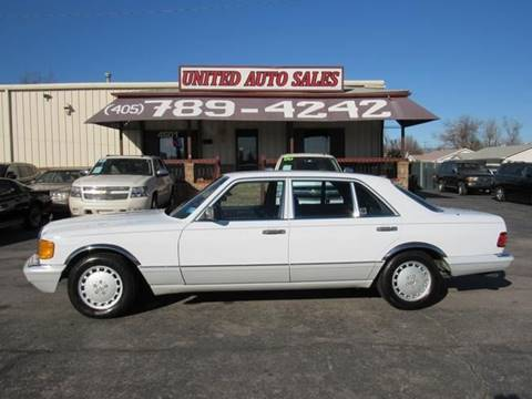1991 Mercedes Benz 560 Class For Sale In Oklahoma City, OK