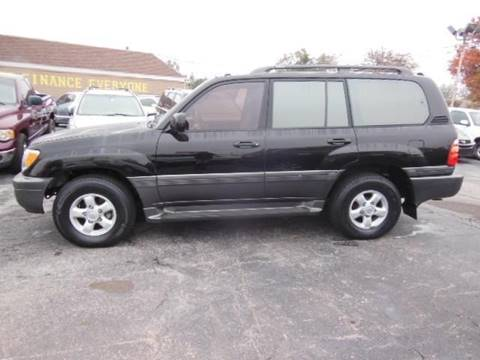 2000 Toyota Land Cruiser for sale in Oklahoma City, OK