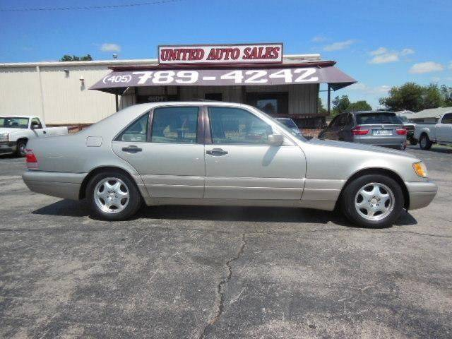 1998 Mercedes Benz S Class For Sale At United Auto Sales In Oklahoma City