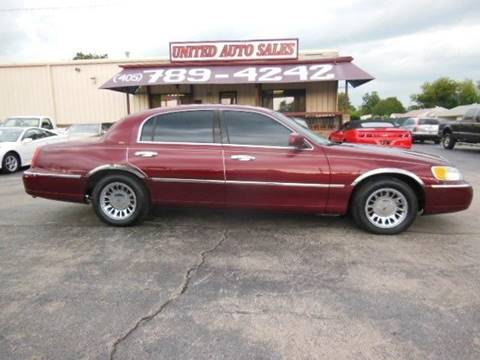 2002 Lincoln Town Car For Sale In Nevada Carsforsale Com