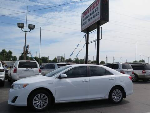 Toyota Dealers Okc >> 2012 Toyota Camry Hybrid For Sale In Oklahoma City Ok