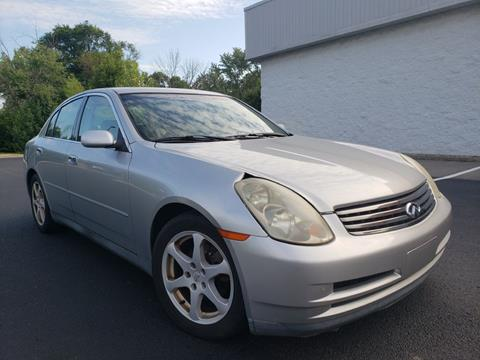 2003 Infiniti G35 for sale at Speedy Auto Sales in Indianapolis IN