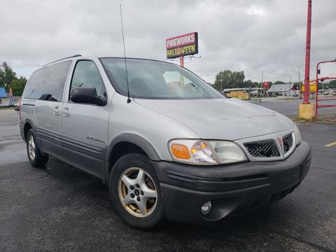 2003 Pontiac Montana for sale at Speedy Auto Sales in Indianapolis IN