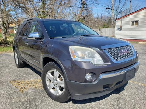 2007 GMC Acadia for sale at Speedy Auto Sales in Indianapolis IN