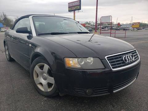 2005 Audi A4 for sale at Speedy Auto Sales in Indianapolis IN