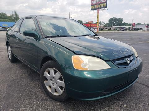2001 Honda Civic for sale at Speedy Auto Sales in Indianapolis IN