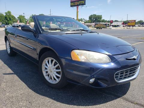 2002 Chrysler Sebring for sale at Speedy Auto Sales in Indianapolis IN